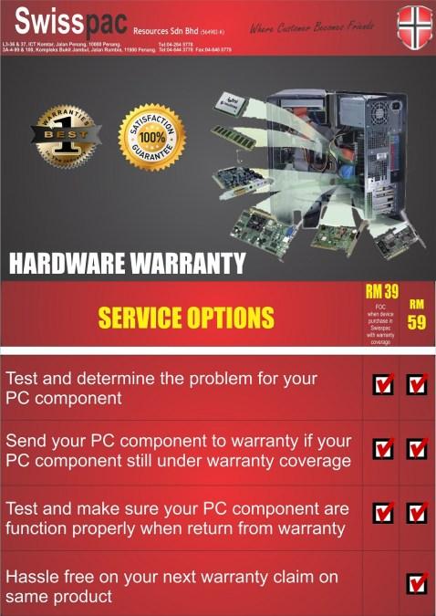 Hardware Warranty r