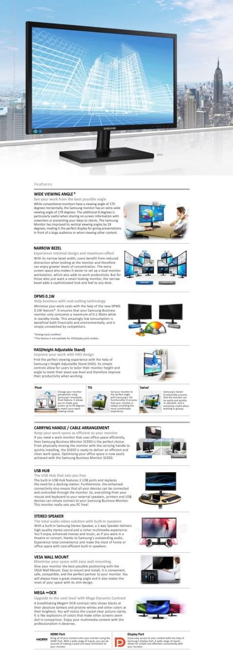 Samsung SC650 Monitor