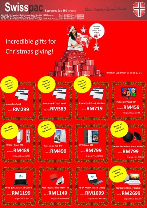 Instore promo Dec  i2014