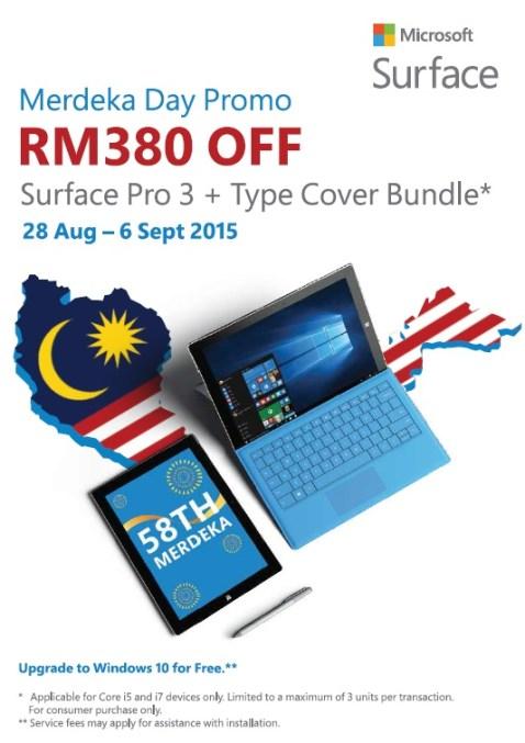 Microsoft Surface Merdeka Promo