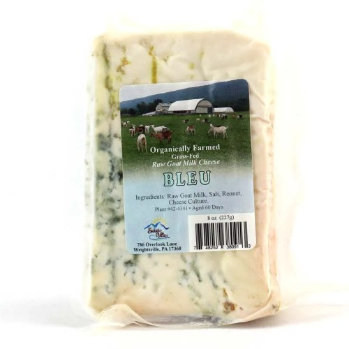 8 oz. Blue Cave Aged Goat Cheese