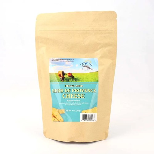 4 oz Herb de Provence Freeze Dried Cow Cheese