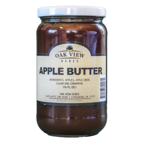 16 oz Apple Butter from Oak View Acres