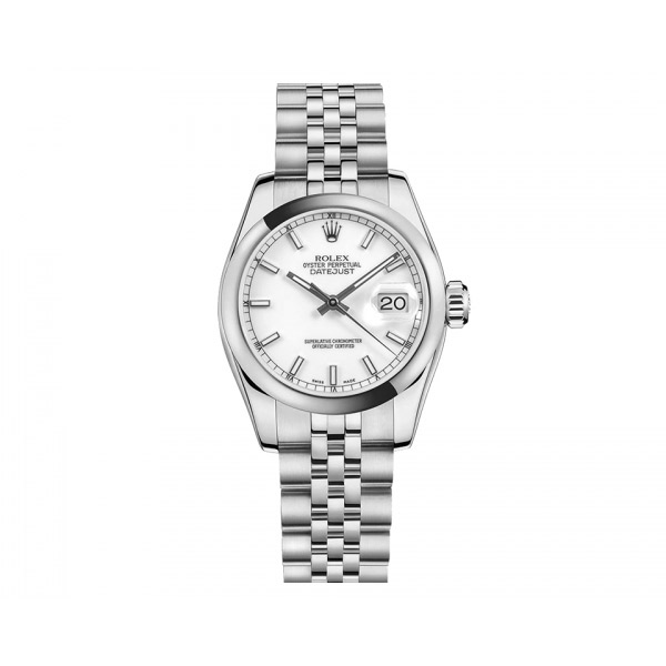 Rolex Ladies Datejust with White Dial and New Style