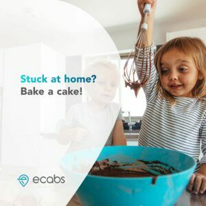 eCabs Stuck at Home Cake