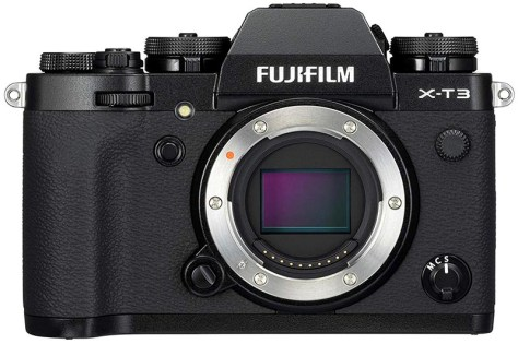 Fujifilm X-T3 mirrorless camera