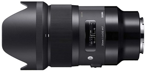 Sigma 35mm f1.4 for Sony