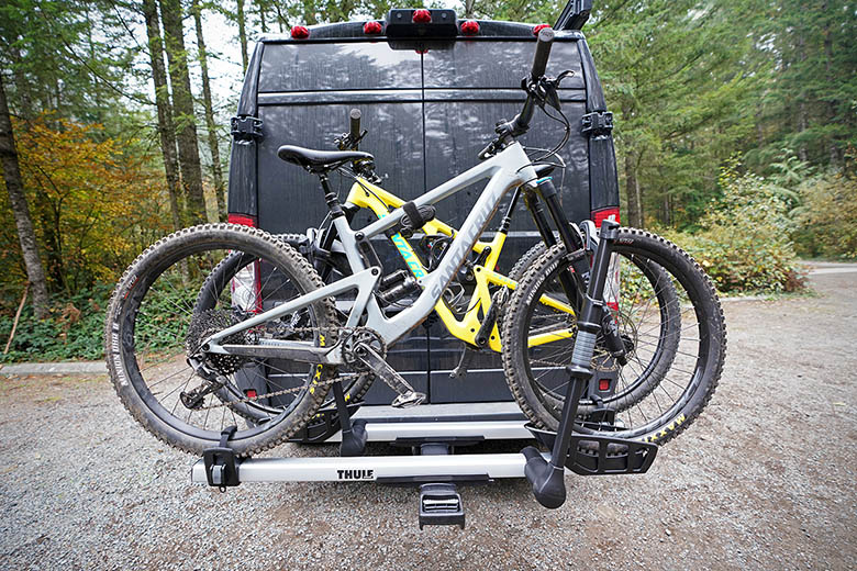 thule dual bike rack