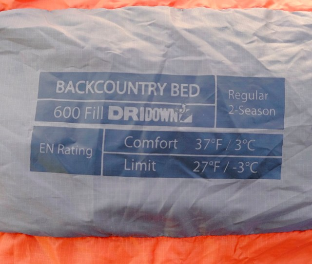 When Available En Ratings Are Helpful For Comparing Sleeping Bags