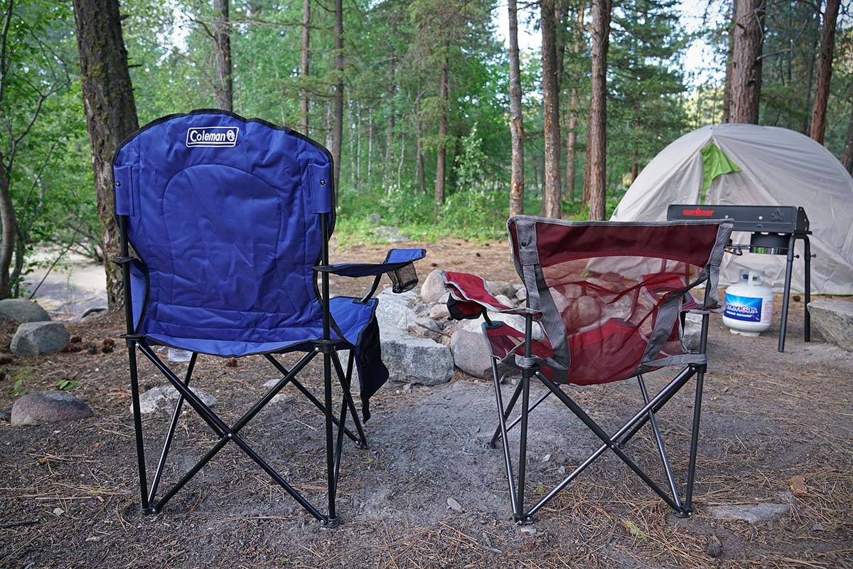 rei camp x chair the is against wall t shirt best camping chairs of 2019 switchback travel height ground to seat and back are helpful specs for comparing models