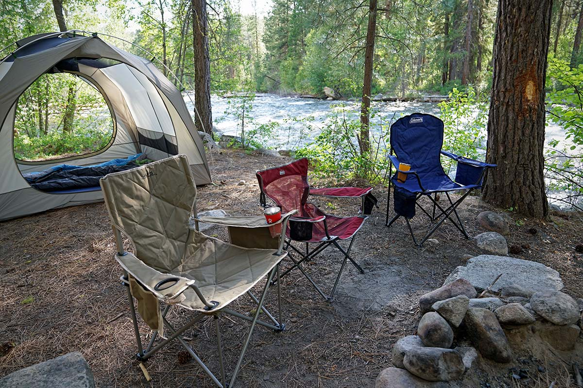 rei camp x chair flexsteel and ottoman best camping chairs of 2019 switchback travel a lineup our favorite from alps mountaineering coleman