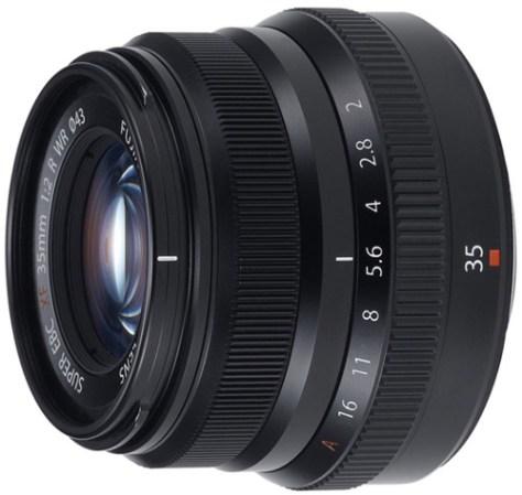 Fujifilm 35mm f2 lens