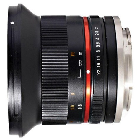 Rokinon 12mm f2 for Fujifilm lens