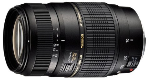 Tamron 70-300mm lens for Canon