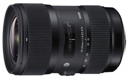 Sigma 18-35mm Canon lens