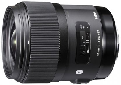 Sigma 35mm f1.4 for Canon