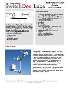 WeatherRack Specification