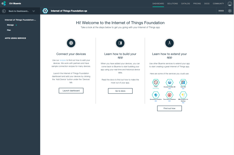 ConnectDevicesBluemix