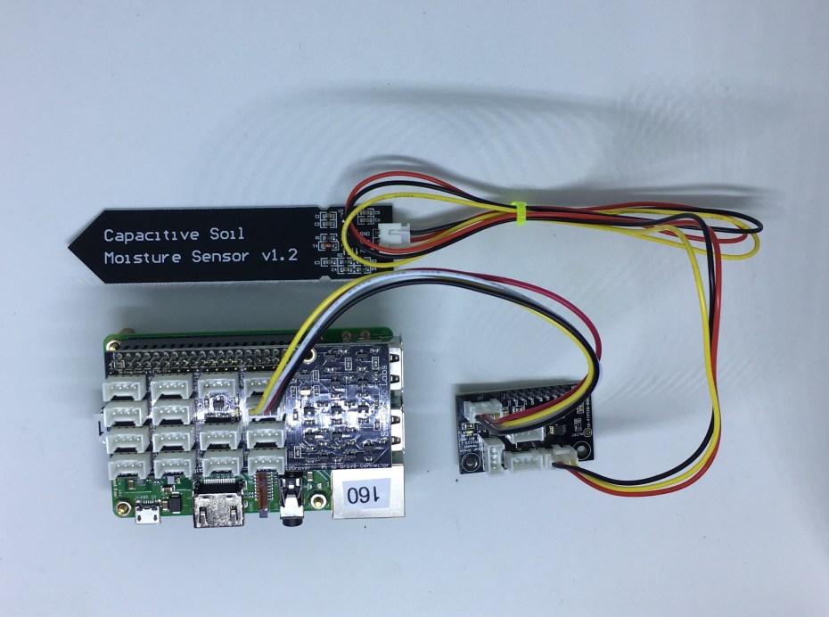 Tutorial - Using Capacitive Soil Moisture Sensors on the Raspberry