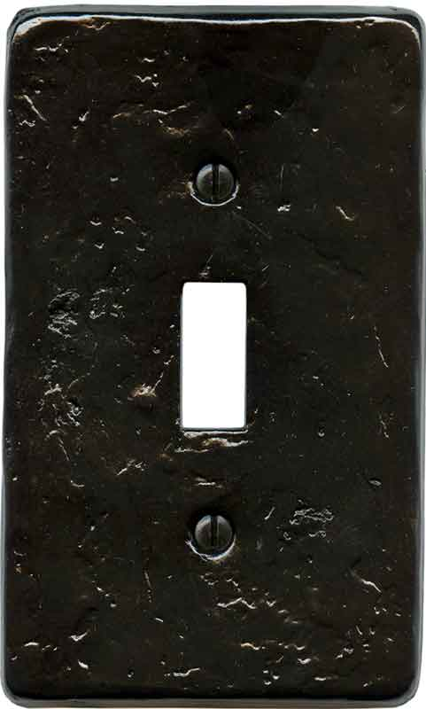 Textured Black Light Switch Plates  Outlet Covers
