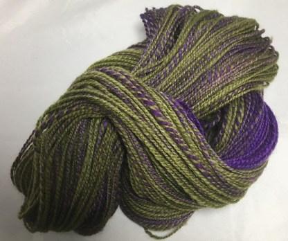 Eggplant Vine yarn