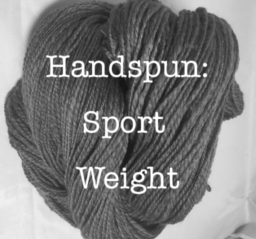 Handspun: Sport Weight