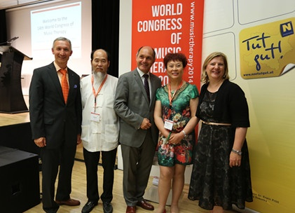 """Music before Medicine"" Workshop at the World Congress of Music Therapy 2014"