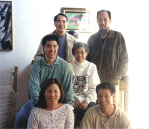 Master Shen Wu and Mrs. Wong's family