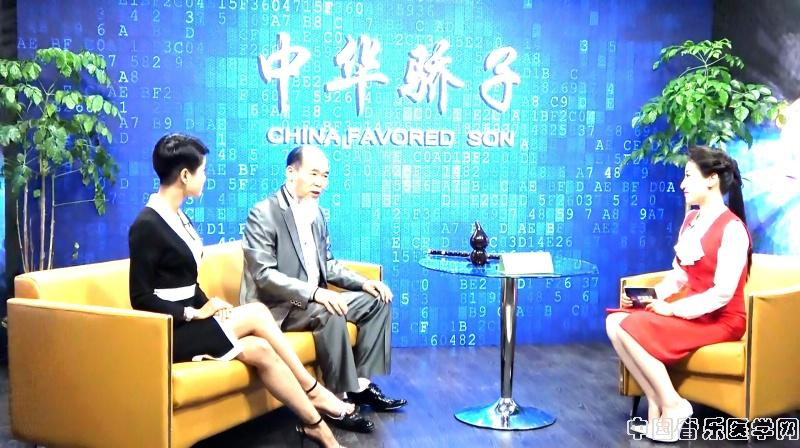Master Wu Filming at CCTV's China Favorite Son Television Program