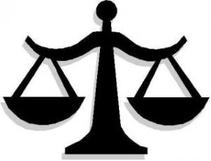 Juridikens vågskål