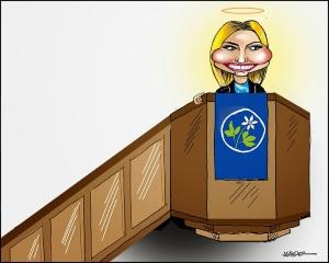 Ebba Busch - hycklerskan