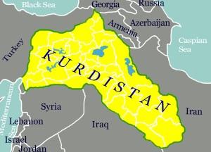 Kurdistans karta