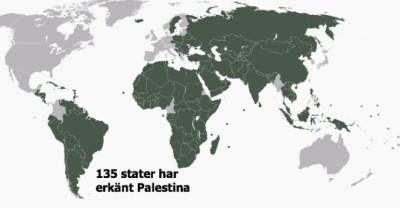Statyer som erkänt Palestina