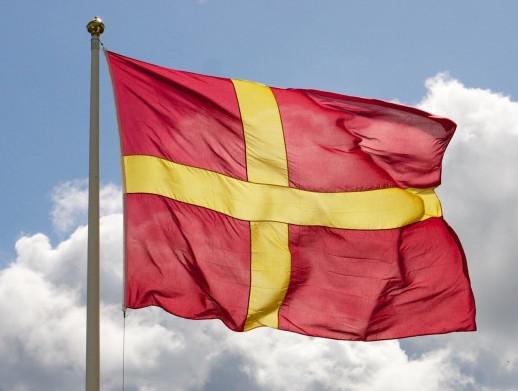 Skånelands flagga