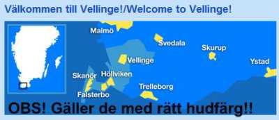 Välkommen till Vellinge - några i varje fall