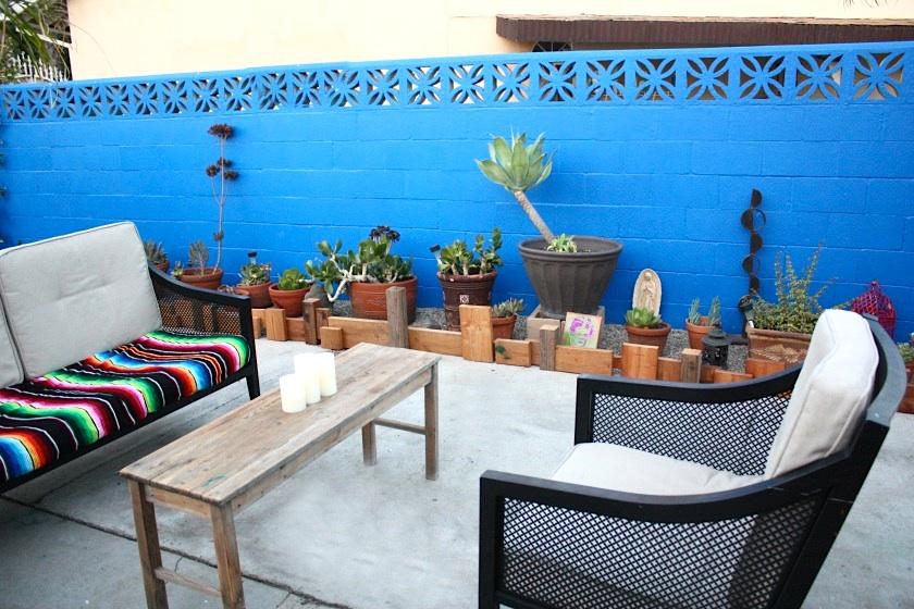 SW  Pared Azul Inspirada por Frida Kahlo