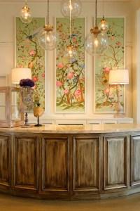 Wallpaper Panel Inspiration: Plans for the Living Room ...