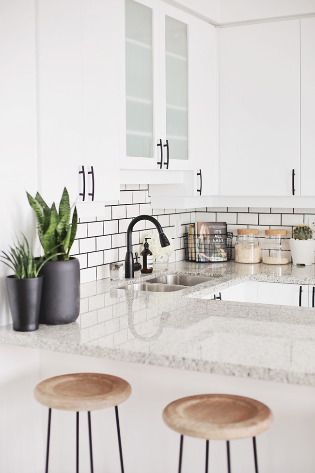black faucet kitchen counters quartz the best source for gold copper and taps in uk swoon white subway tiles with grout