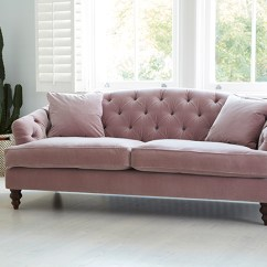 Pink Sofa Dating Uk Bed Slipcovers Jcpenney Why You Should Probably Buy A Velvet In 2017 Swoon Worthy Blush Button Back From Darlings Of Chelsea