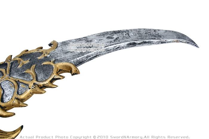 fantasy dragon teeth saber