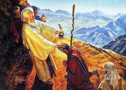 Image result for moses commissions joshua