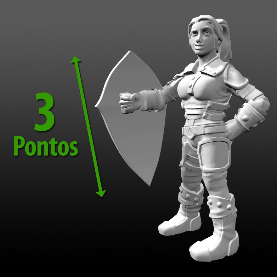 Gladius Swordplay Regras Pontos de Armadura
