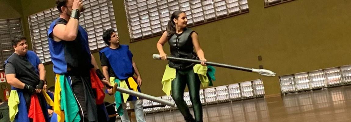 Gladius Swordplay no Sesc Rio Preto 2019!