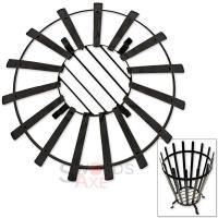 Epic Roman Reenactment Fire Pit Brazier Wood Burning Cage ...