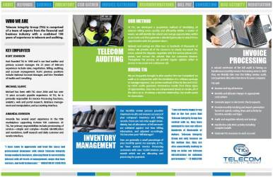 Telecom Integrity Group Brochure Inside
