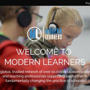Modern-Learners-homepage