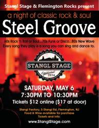 steelgroove poster 8.5 x 11