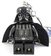 "Star Wars Lego Darth Vader Figure Key Chain / LED Key Light 3"""