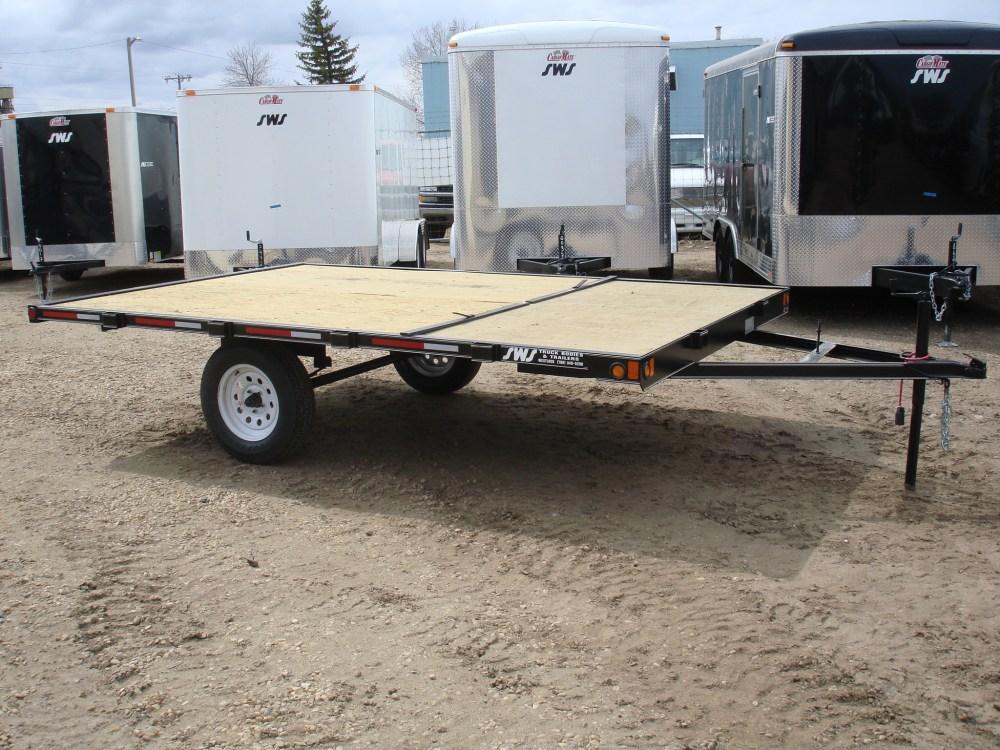 medium resolution of 2020 14 1 3 5k atv utility sled trailer