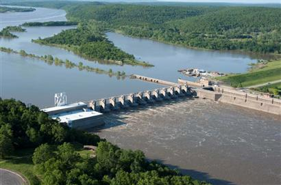 Welcome To Webbers Falls Lock And Dam
